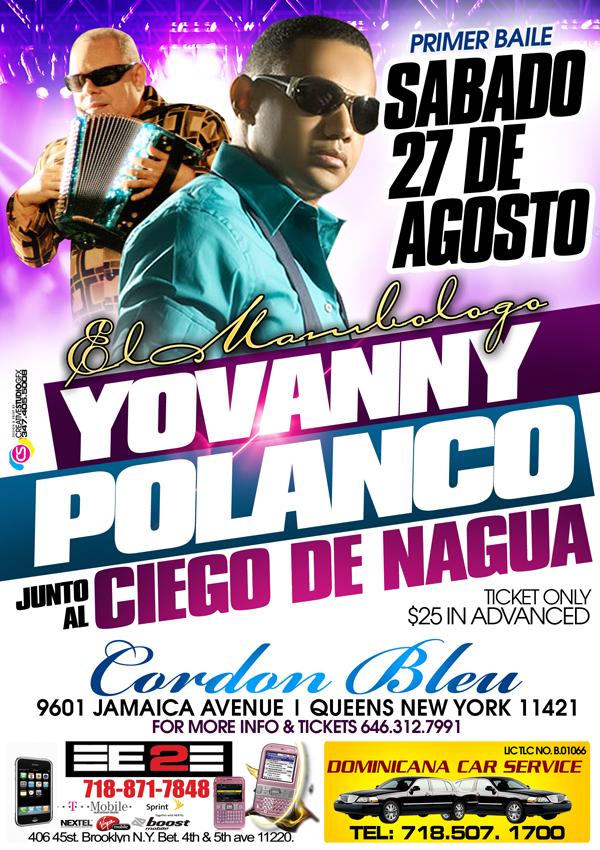 Yovanny Polanco y El Ciego De Nagua