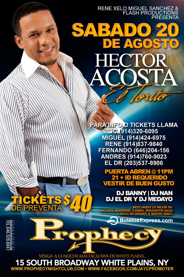 Hector Acosta El Torito
