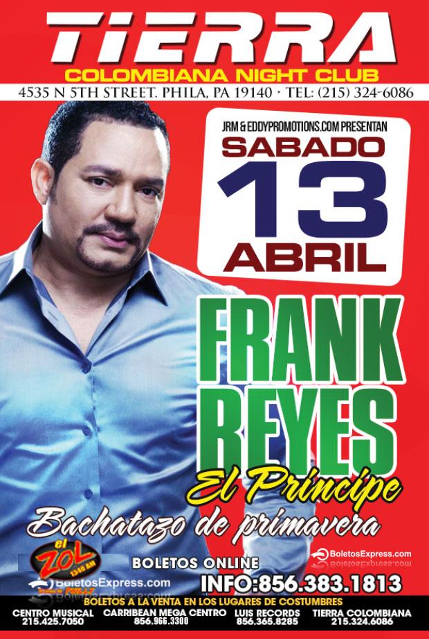 frank reyes en tierra colombiana