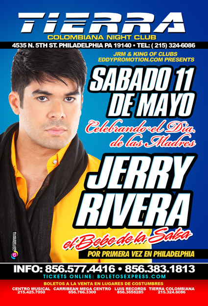 Jerry Rivera en tierra columbiana