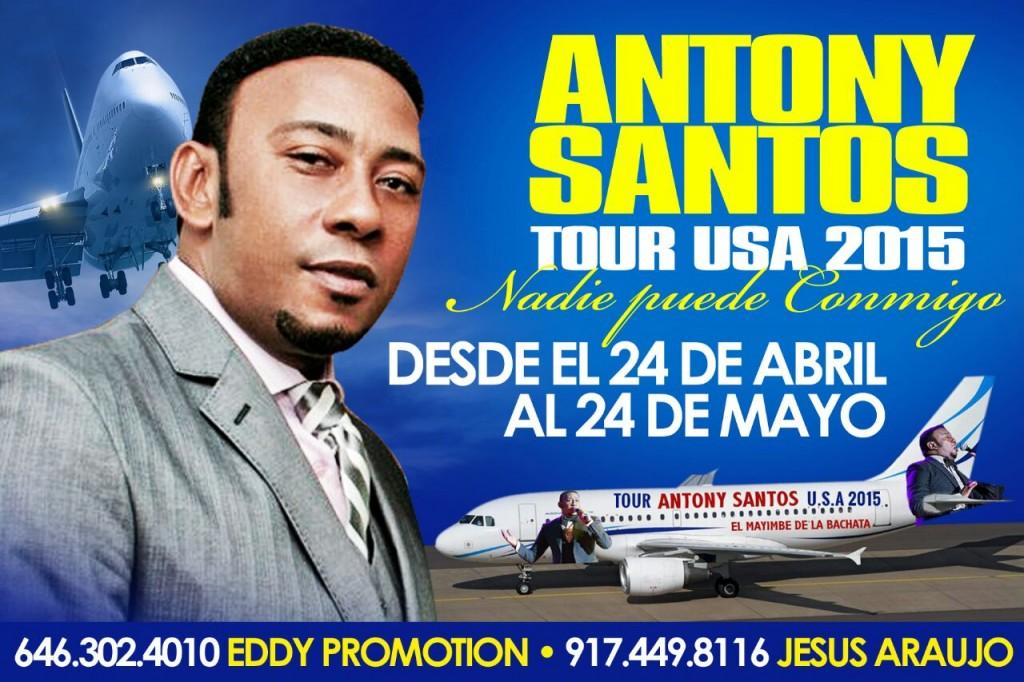 antony santos tour usa 2015